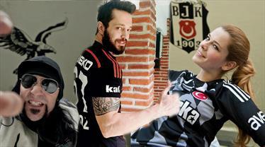 Kalbi Beşiktaş için çarpan 45 ünlü