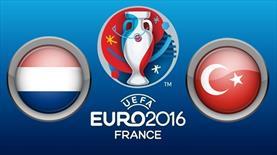 Hollanda-Türkiye İşte muhtemel 11'ler!