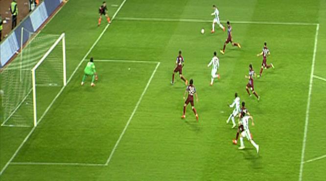 İşte Trabzon'u yıkan gol!