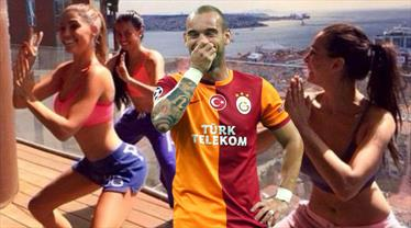 İşte Sneijder'in 700 metrekarelik sarayı!
