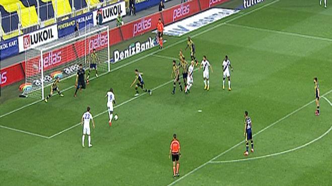 F.Bahçe'nin gol sevinci kısa sürdü!