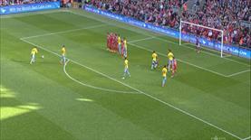 Liverpool'u frikikten avladı!