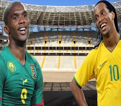 Eto'o ve Ronaldinho'yu bir şaheser bekliyor!