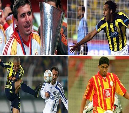 UEFA açıkladı! İşte Türkiye'de oynayan en iyi 10 yabancı!