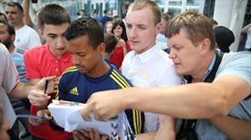 Ukrayna'da Fenerbahçe izdihamı!