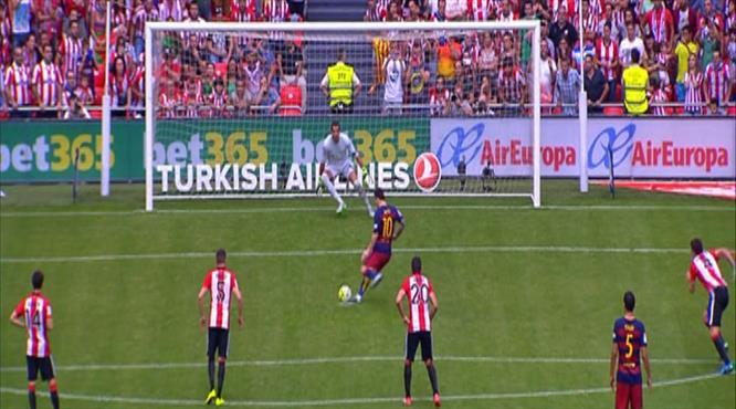 Ne yaptın Messi!.. Penaltıyı böyle kaçırdı!..