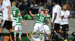 Sporting Lisbon kırmızıda geçti!