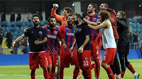 Karabükspor'da liderlik sevinci
