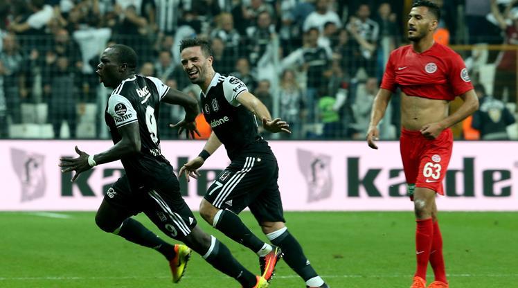 Beşiktaş -  Antalyaspor: 3-0 (ÖZET)
