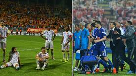 Göztepe - Eskişehir maçı yarıda kaldı (FOTO GALERİ)