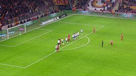 Sneijder'in hasreti böyle bitti! İşte enfes frikik golü
