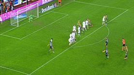 Bruno Alves'in golüyle skor 3-1'e geldi