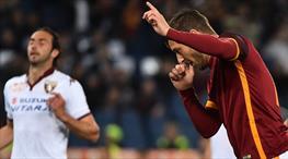 İşte Totti'nin coştuğu Roma - Torino maçının özeti