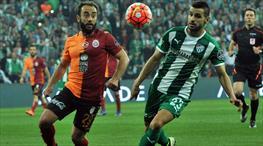 Bursaspor: 1 - Galatasaray: 1