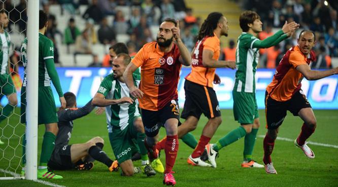 İşte Galatasaraylı Olcan'ın Bursaspor'a attığı gol