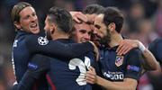 Bayern Münih -  Atletico Madrid: 1-2