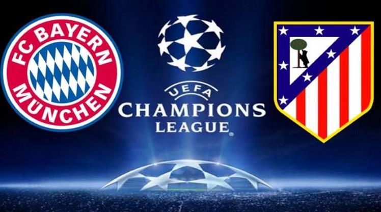 Bayern Münih -  Atletico Madrid (CANLI)