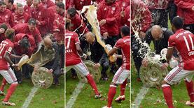 Bayern kupasına kavuştu!.. Yok böyle kutlama (GALERİ)