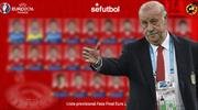 İspanya'dan bol sürprizli Euro 2016 kadrosu