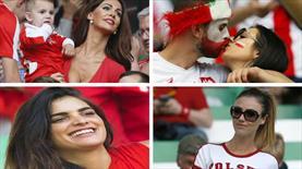 İsviçre-Polonya maçında güzeller geçidi!