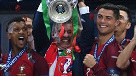 Nani'den Ronaldo'ya jest! İşte takım ruhu...