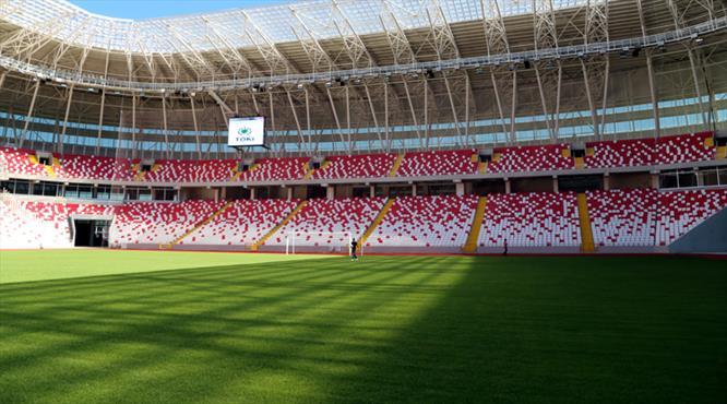 Türkiye'nin ilk ekolojik stadı gün sayıyor