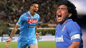 Hamsik, Maradona'yı tarihe gömdü! (ÖZET)