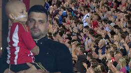 Sunderland taraftarı Bradley Lowery'i unutmadı