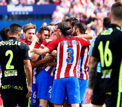 Atletico Madrid'den Barça'ya nazire: 5-0 (ÖZET)