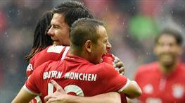 Bayern firesiz devam