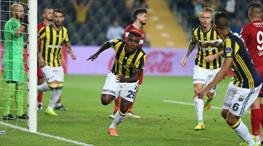 Fenerbahçe: 2 - Gaziantepspor: 1 (ÖZET)