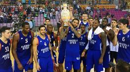 Girit turnuvası Anadolu Efes'in