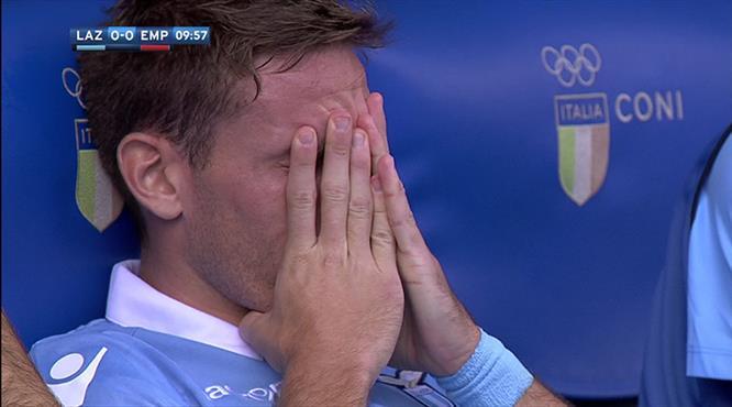 Lucas Biglia'nın gözyaşları