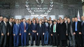 Bakan Kılıç başkanları kabul etti