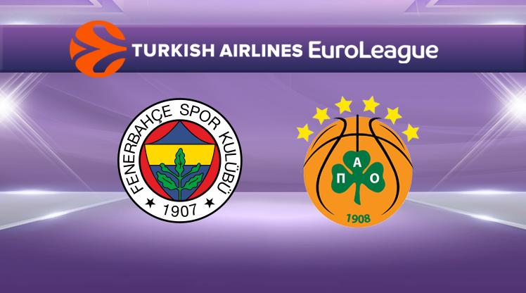 Fenerbahçe-Panathinaikos (CANLI)