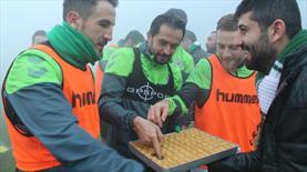 Nalçacılılar'dan futbolculara destek!