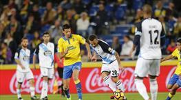 Las Palmas-Deportivo La Coruna:1-1 (ÖZET)