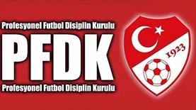 PFDK'dan Fenerbahçe, Trabzonspor ve Galatasaray'a ceza!