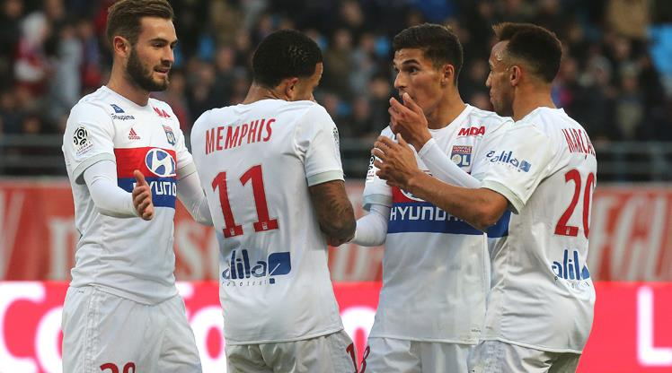 Lyon gol oldu yağdı (ÖZET)