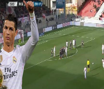 Salih Uçan'dan Ronaldo frikiği! İsviçre bu golü konuşuyor...