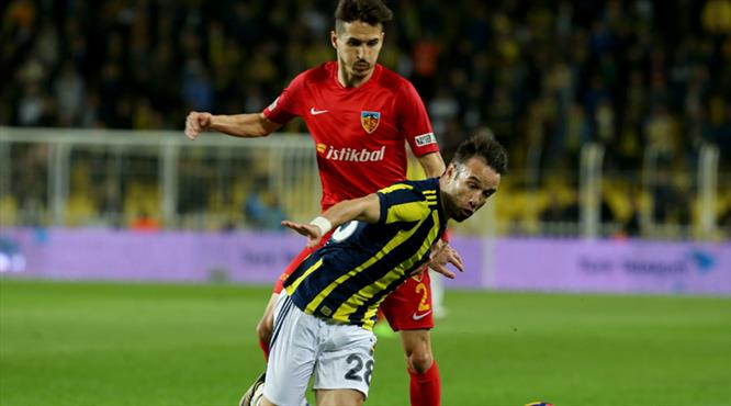 İşte Fenerbahçe - Kayserispor maçının özeti