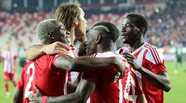 Demir Grup Sivasspor - Atiker Konyaspor: 2-1 (ÖZET)
