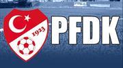 Beşiktaş ve Göztepe PFDK'ya sevk edildi
