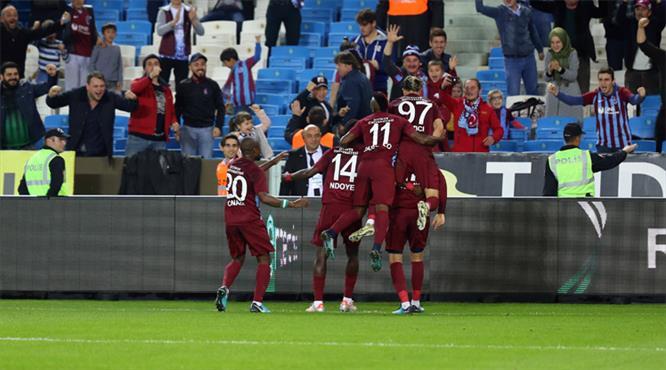Trabzonspor - Osmanlıspor: 4-3 (ÖZET)