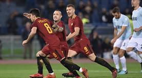 Derbide gülen Roma