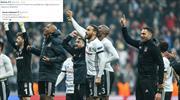 Başakşehir'den Beşiktaş paylaşımı! Cevap gecikmedi