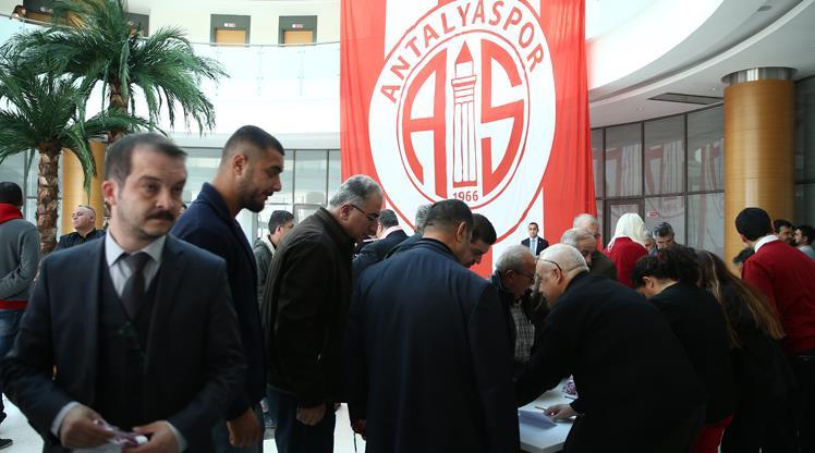 Antalyaspor'da seçim iptal