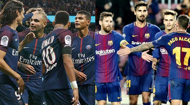 PSG attı Barcelona tuttu