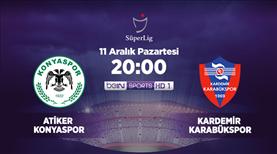 Atiker Konyaspor - Kardemir Karabükspor