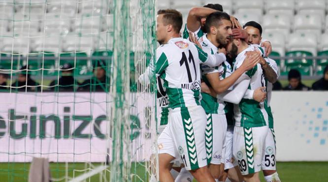 Atiker Konyaspor - Kardemir Karabükspor: 2-0 (ÖZET)
